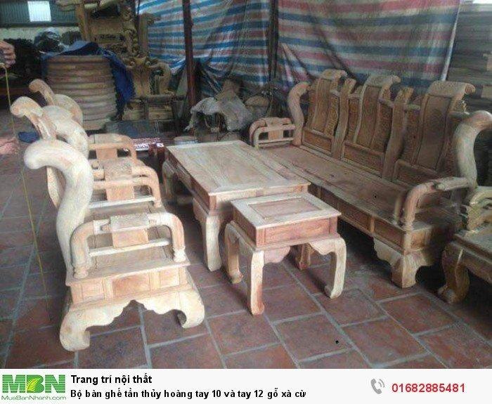 Bộ bàn ghế tần thủy hoàng gỗ xà cừ5