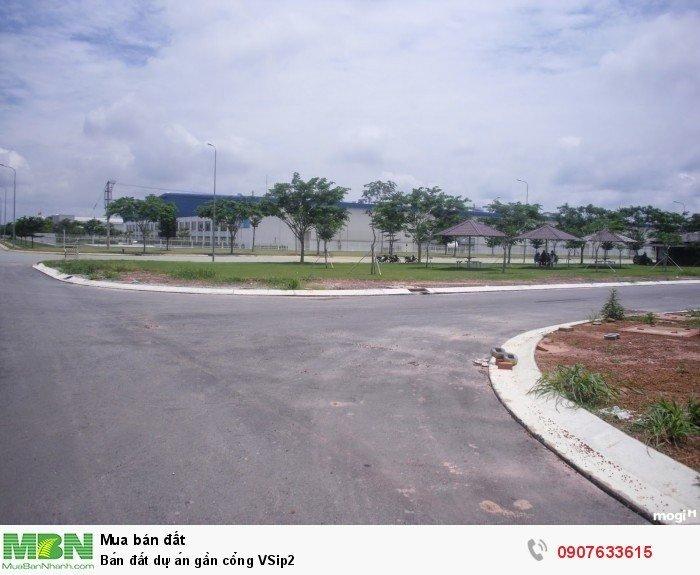 Bán đất dự án gần cổng VSip2