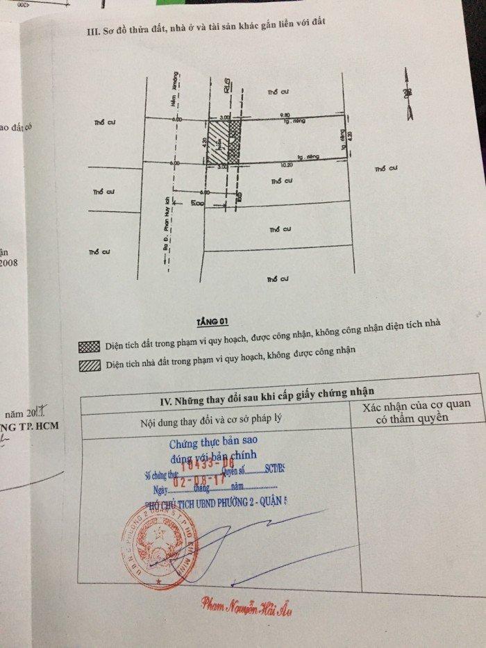 Bán nhà Phan Huy ích, Gò Vấp, TP HCM