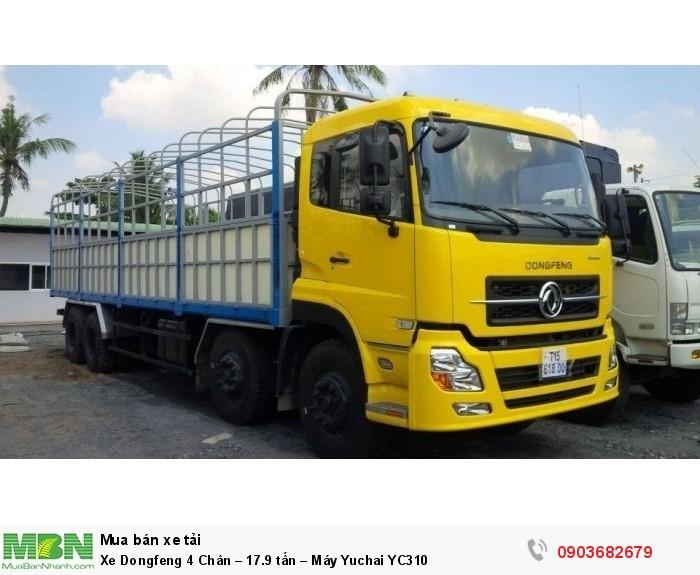 Xe Dongfeng 4 Chân – 17.9 tấn – Máy Yuchai YC310 0