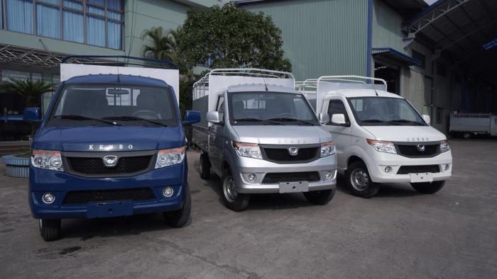 Xe tải Kenbo chiến thắng 990kg thùng mui phủ bạt/ giá xe tải kenbo chiến thắng 870kg