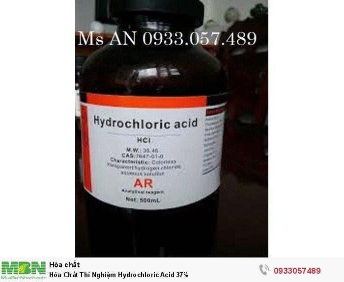Hóa Chất Thí Nghiệm Hydrochloric Acid 37%0