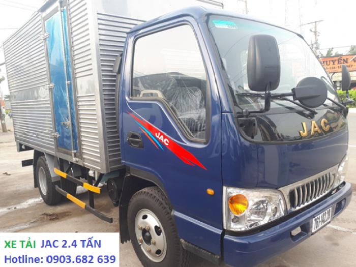 Xe Tải Jac 2t4, Jac thùng khung mui bạt - tiết kiệm nhiên liệu  Công Nghệ Isuzu Phú Mẫn Auto 9