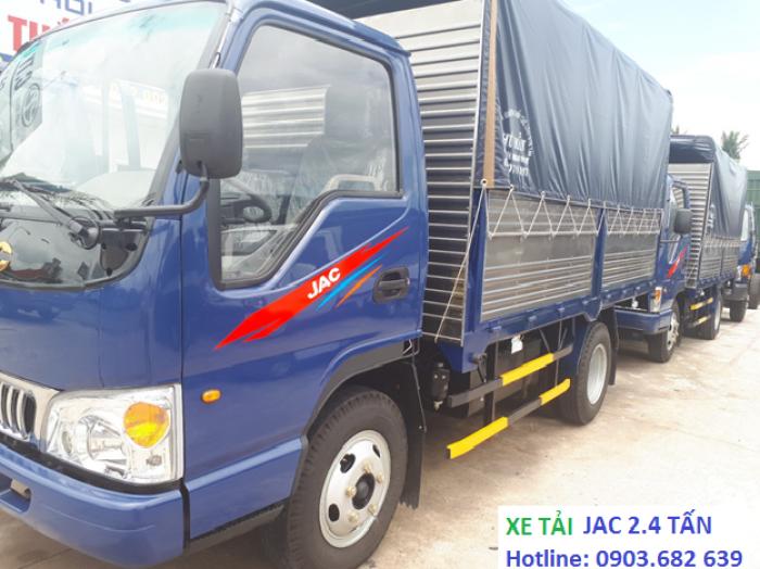 Xe Tải Jac 2t4, Jac thùng khung mui bạt - tiết kiệm nhiên liệu  Công Nghệ Isuzu Phú Mẫn Auto 8