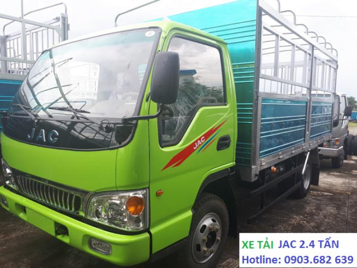 Xe Tải Jac 2t4, Jac thùng khung mui bạt - tiết kiệm nhiên liệu  Công Nghệ Isuzu Phú Mẫn Auto 7