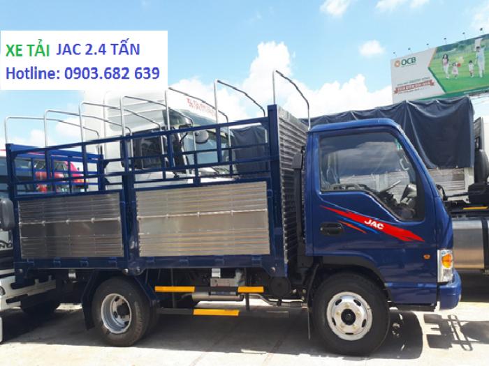Xe Tải Jac 2t4, Jac thùng khung mui bạt - tiết kiệm nhiên liệu  Công Nghệ Isuzu Phú Mẫn Auto 5