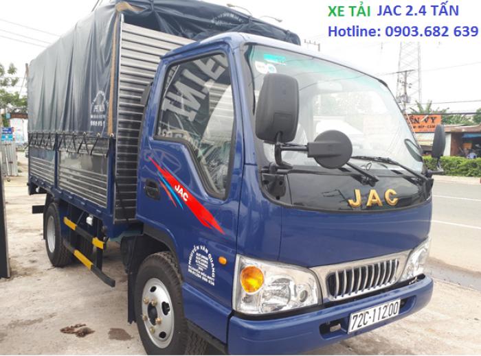 Xe Tải Jac 2t4, Jac thùng khung mui bạt - tiết kiệm nhiên liệu  Công Nghệ Isuzu Phú Mẫn Auto 4