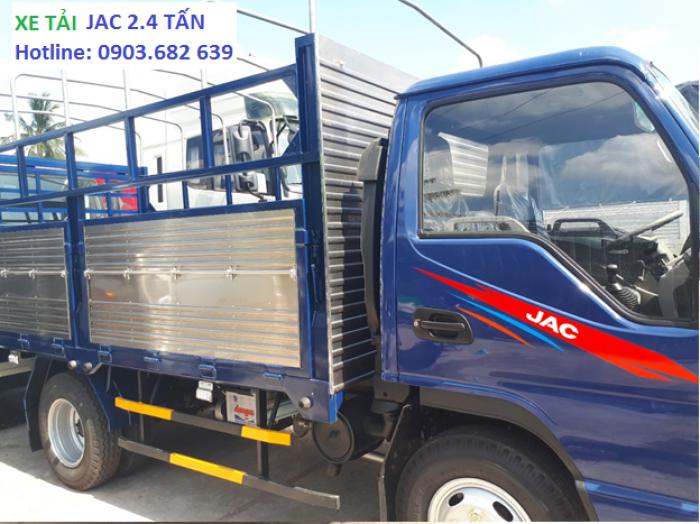 Xe Tải Jac 2t4, Jac thùng khung mui bạt - tiết kiệm nhiên liệu  Công Nghệ Isuzu Phú Mẫn Auto 1