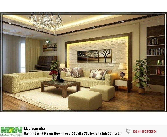 Bán nhà phố Phạm Huy Thông đắc địa đắc lộc an sinh 50m x 6 tầng nhỉnh 7 tỷ