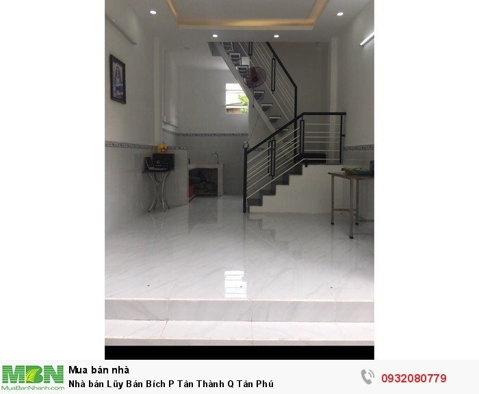 Nhà bán Lũy Bán Bích P Tân Thành Q Tân Phú
