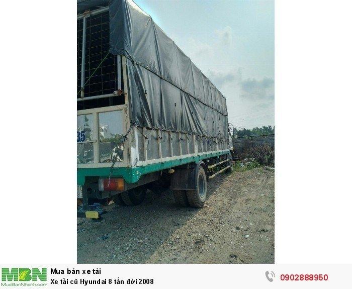 Xe tải cũ Hyundai 8 tấn đời 2008 2
