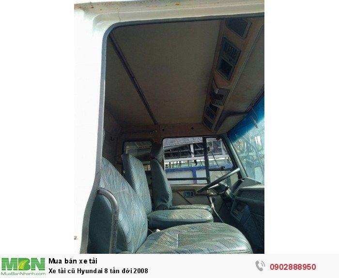 Xe tải cũ Hyundai 8 tấn đời 2008 4
