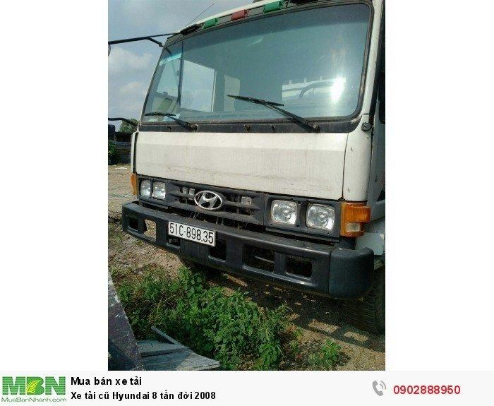 Xe tải cũ Hyundai 8 tấn đời 2008 5