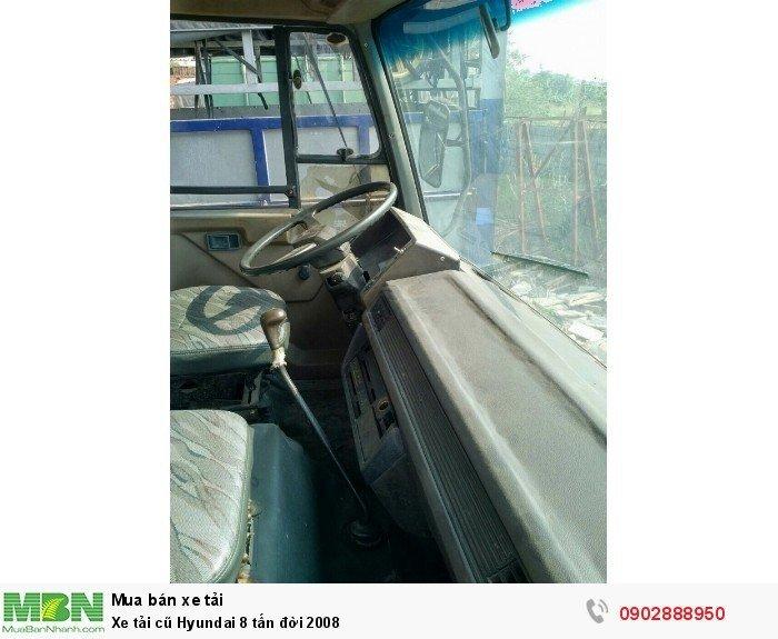 Xe tải cũ Hyundai 8 tấn đời 2008 8