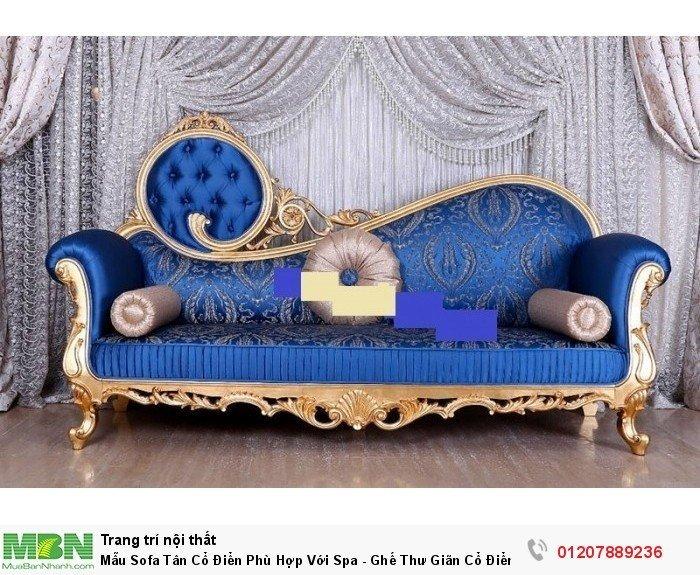 ghế lười trang trí tân cổ điển sang trọng1