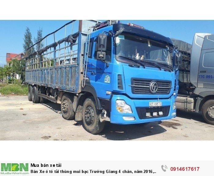 Bán Xe ô tô tải thùng mui bạt Trường Giang 4 chân, năm 2016, 17,99 tấn