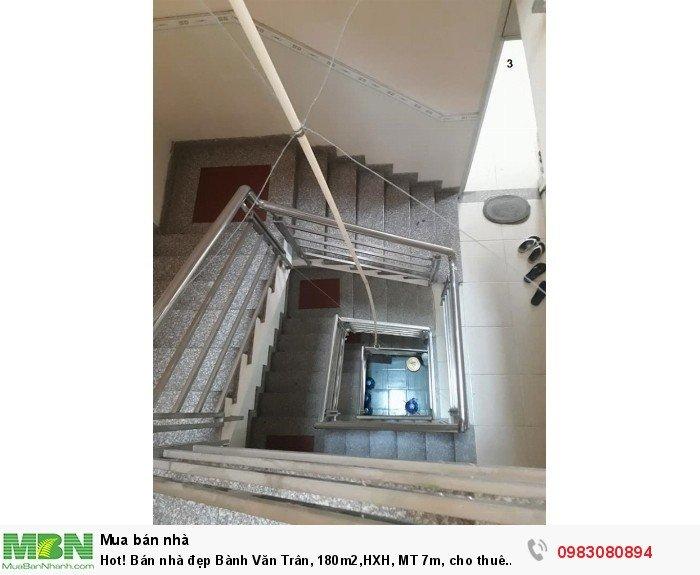 Hot! Bán nhà đẹp Bành Văn Trân, 180m2,HXH, MT 7m, cho thuê 50tr/tháng.