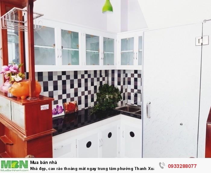 Nhà đẹp, cao ráo thoáng mát ngay trung tâm phường Thanh Xuân, Q12