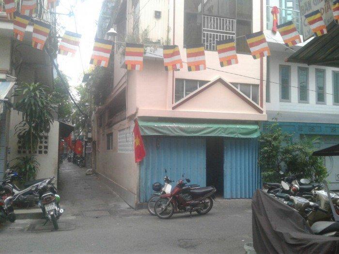Bán nhà hẻm 109 Nguyễn Thiện Thuật P2 Q3.