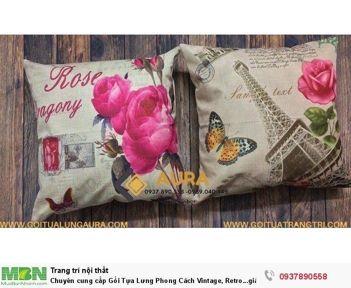 Chuyên cung cấp Gối Tựa Lưng Phong Cách Vintage, Retro...giá cực kì ưu đãi5