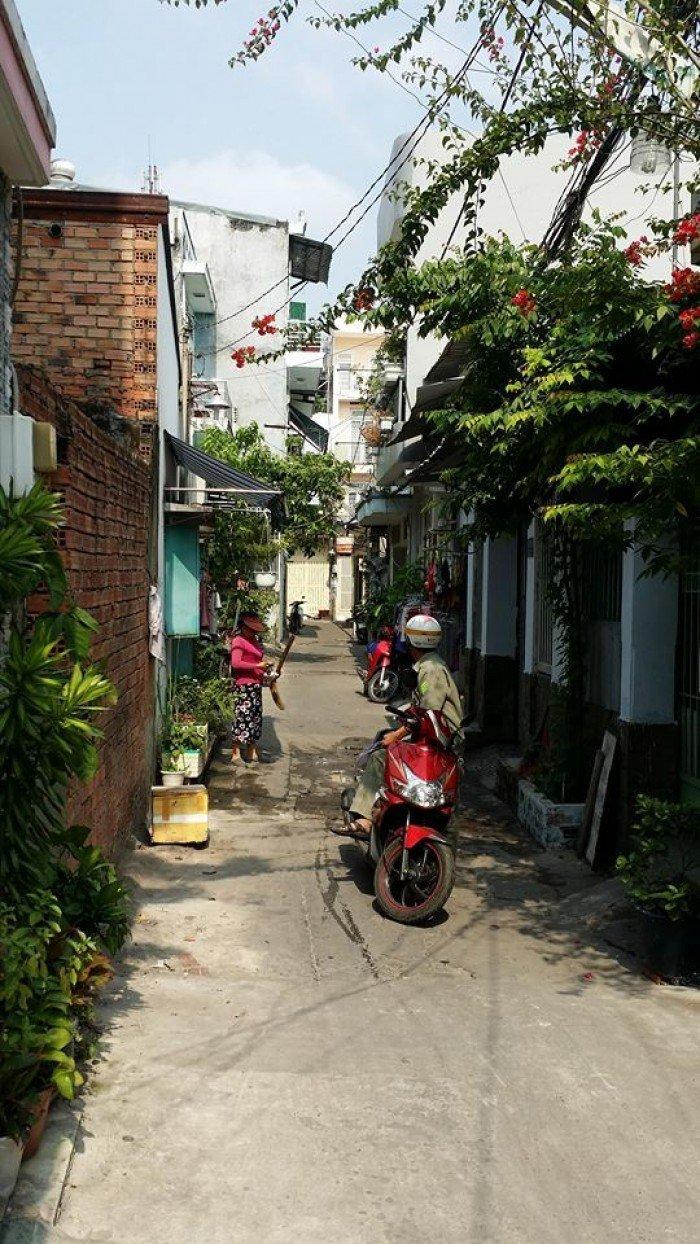 Nhà hẽm giá rẻ đường Nguyễn Súy,DT 4m x 16m, TL nhẹ, P.Tân Quý