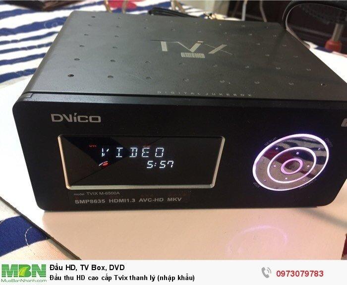 Đầu thu HD cao cấp Tvix thanh lý (nhập khẩu)3