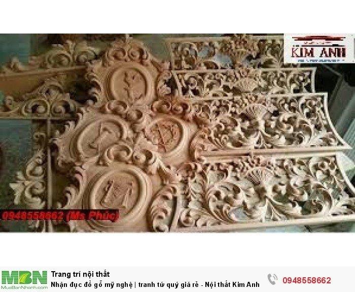 Nhận đục đồ gỗ mỹ nghệ | tranh tứ quý giá rẻ - Nội thất Kim Anh sài gòn1