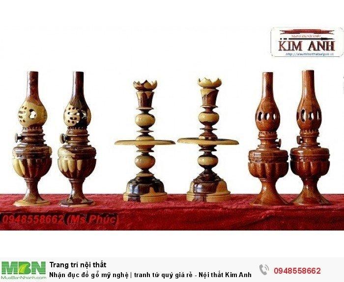 Nhận đục đồ gỗ mỹ nghệ | tranh tứ quý giá rẻ - Nội thất Kim Anh sài gòn5