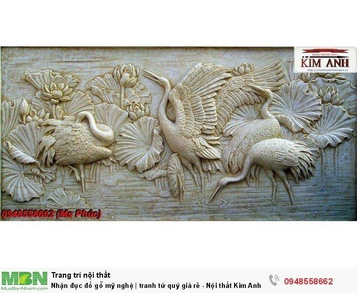 Nhận đục đồ gỗ mỹ nghệ | tranh tứ quý giá rẻ - Nội thất Kim Anh sài gòn6