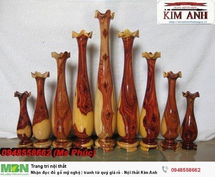 Nhận đục đồ gỗ mỹ nghệ | tranh tứ quý giá rẻ - Nội thất Kim Anh sài gòn9
