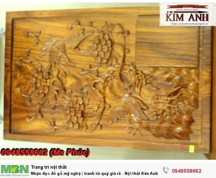Nhận đục đồ gỗ mỹ nghệ | tranh tứ quý giá rẻ - Nội thất Kim Anh sài gòn11