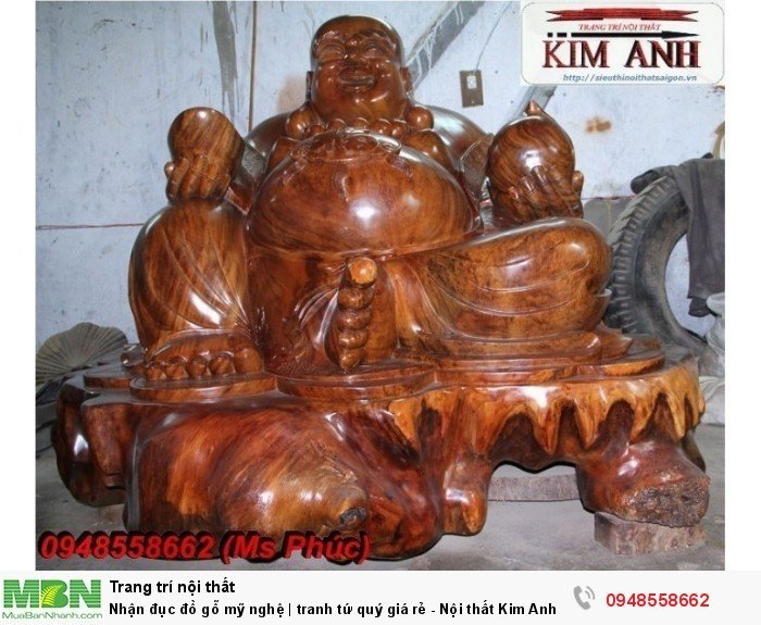 Nhận đục đồ gỗ mỹ nghệ | tranh tứ quý giá rẻ - Nội thất Kim Anh sài gòn13