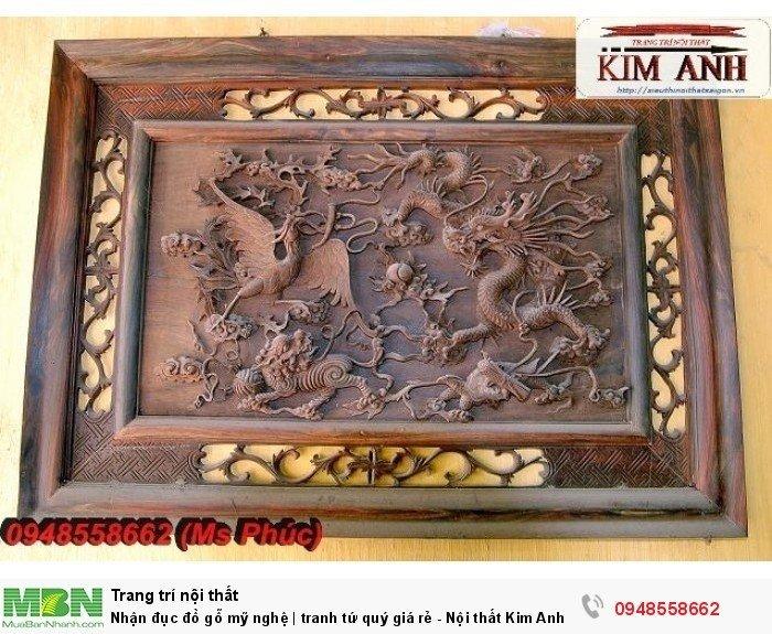 Nhận đục đồ gỗ mỹ nghệ | tranh tứ quý giá rẻ - Nội thất Kim Anh sài gòn16