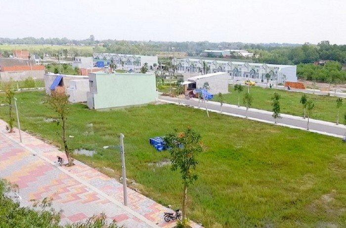Đất  117m2 MT đường Phạm Hữu Lầu,SHR