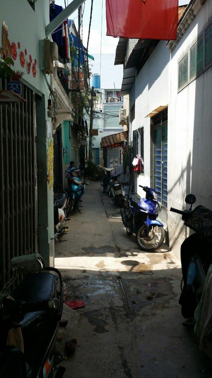 Nhà hẽm giá rẽ đường Độc Lập  , DT 4,8m x 5,4m, P.Tân Quý