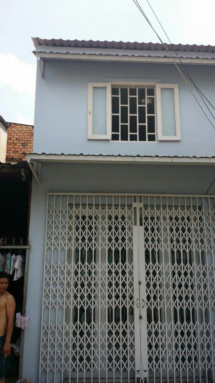 Nhà hẽm giá rẽ đường Văn Cao , DT 3,3m x 6,5m, P.Phú Thạnh