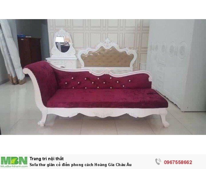 Sofa thư giãn cổ điển phong cách Hoàng Gia Châu Âu6