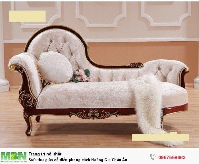 ghế sofa băng gỗ cổ điển9