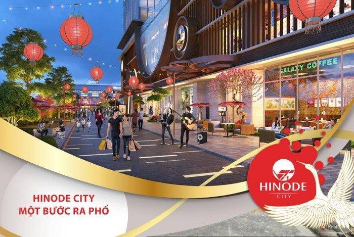 Bán gấp căn hộ 2 mặt tiền đường-1 bước ra phố tại dự án Hinodecity 201 Minh Khai
