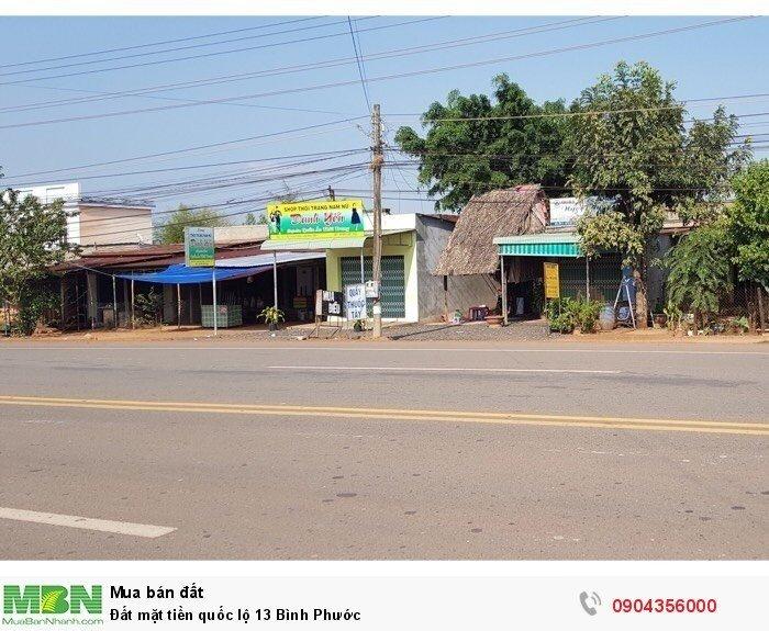 Đất mặt tiền quốc lộ 13 Bình Phước