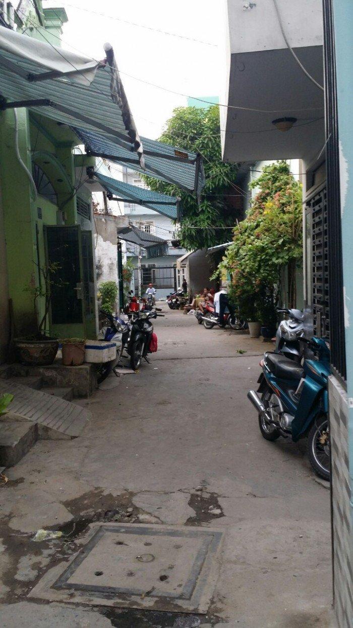 Nhà hẻm giá rẽ dg Cách Mạng , DT 3.5m x 7,5m, P.Tân Thành
