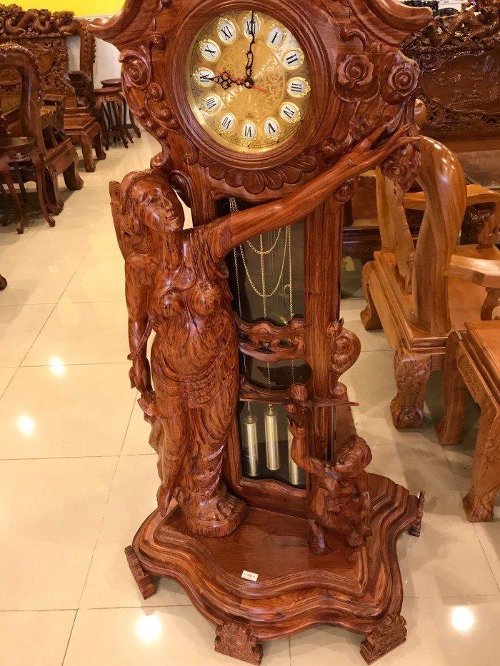Đồng hồ gỗ mỹ nghệ Mới 100%, giá: 15.000.000đ, gọi: 0934 174 886 ...