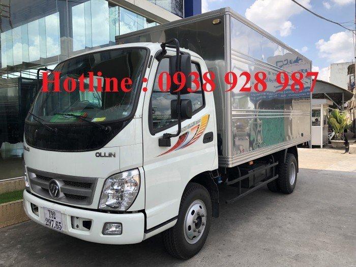 Giá xe THACO OLLIN 500B, xe tải 5 tấn trường hải, động cơ công nghệ ISUZU