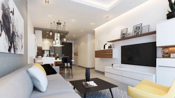 Cần cho thuê căn hộ The Mansion Huyện Bình Chánh, DT 95m2, 3PN, 2WC