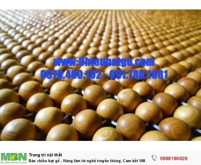 chiếu hạt gỗ pơ mu hạt to4