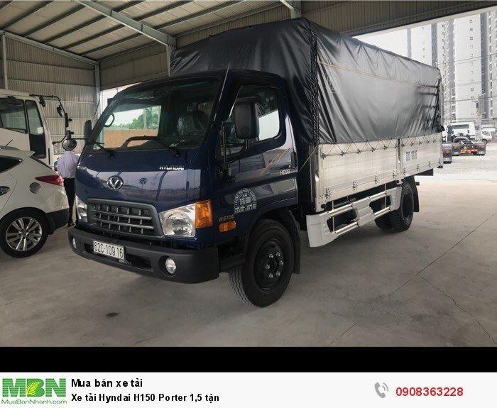 Xe tải Hyndai H150 Porter 1,5 tận