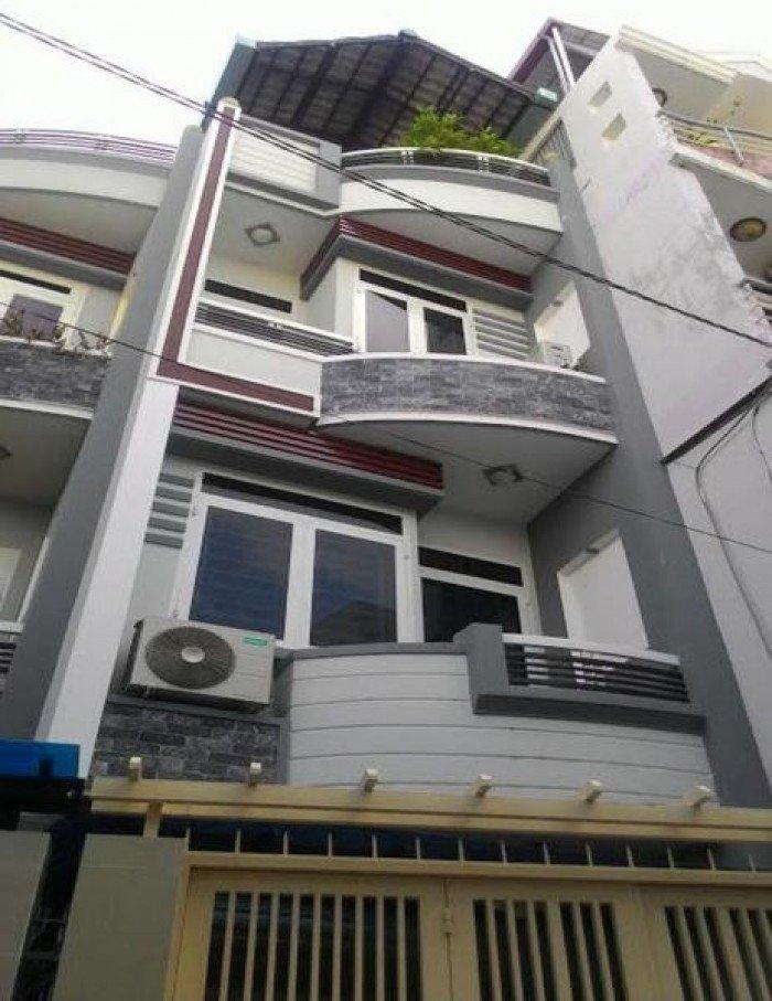 Bán nhà Ni Sư Huỳnh Liên, 77 m2, 4 tầng, 3 phòng ngủ.