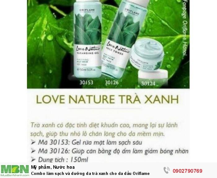 Combo làm sạch và dưỡng da trà xanh cho da dầu Oriflame3