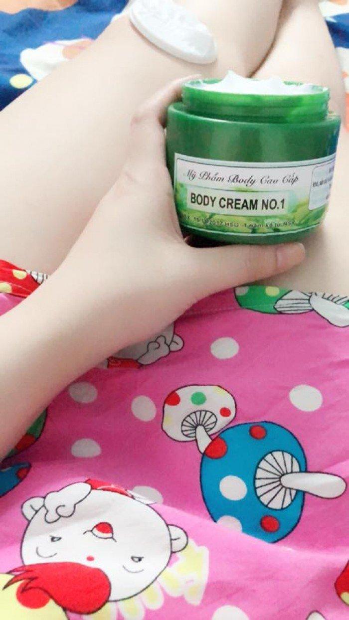 Kem dưỡng body trà xanh CREAM NO 1 siêu trắng1