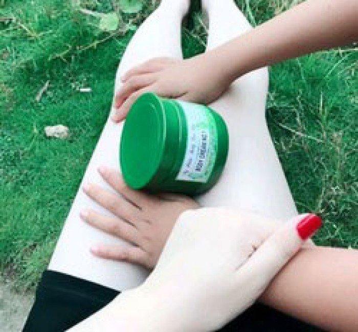 Kem dưỡng body trà xanh CREAM NO 1 siêu trắng5